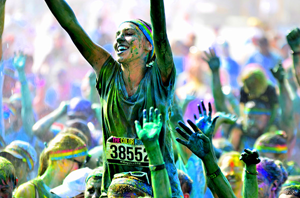 Erie color run